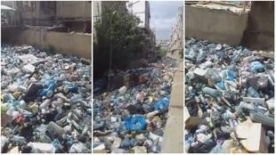 A local filmed this video of a river carrying enormous amounts of waste, in the working-class area of Hay el Sellom to the south of Beirut.