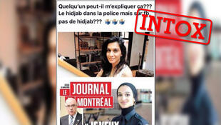 تصاویری از شایعه منتشر شده در کانادا