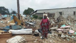 Près de cent familles sont à la rue depuis le début du mois d'octobre à Anonkoua Kouté.