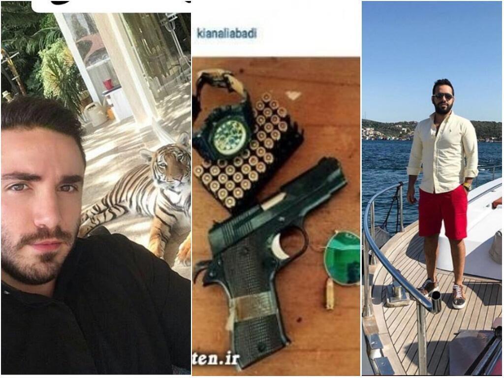 """صور تظهر نمط حياة بعض أبناء المسؤولين الإيرانيين الملقبين باسم """"آغازاده"""" أو """"النبلاء""""."""