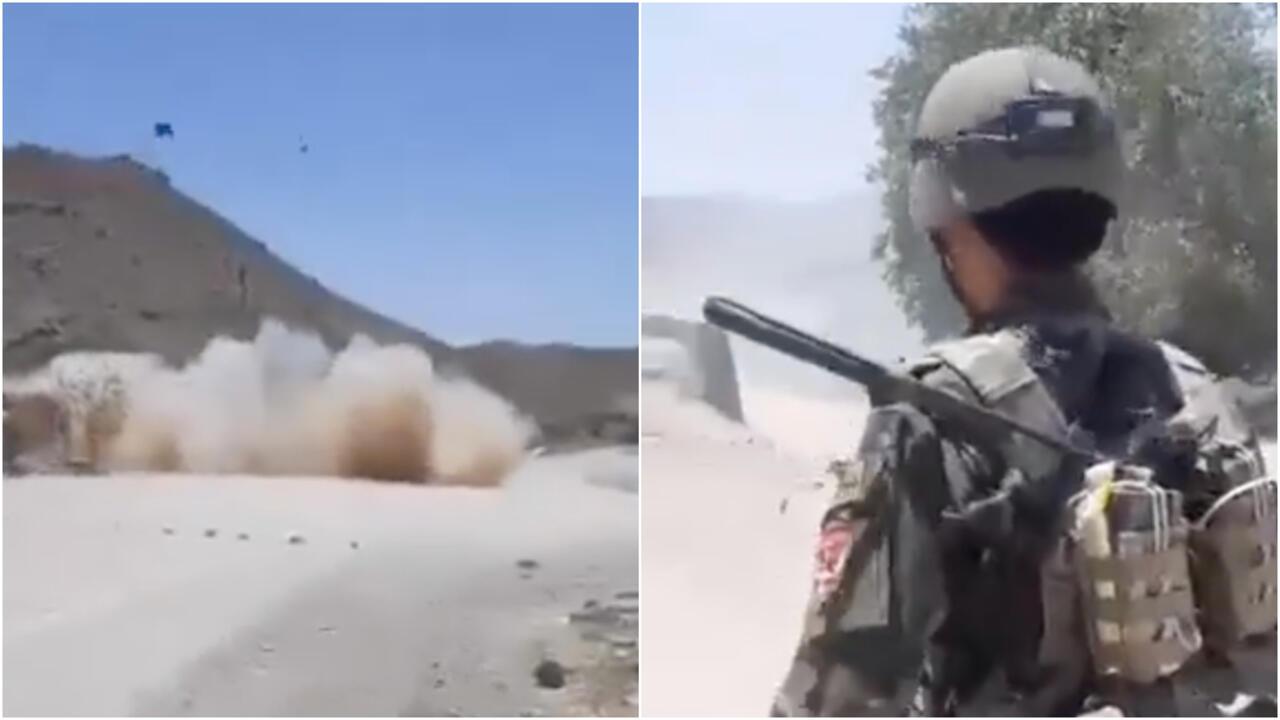 L'armée afghane force un homme suspecté d'aider les Taliban à se faire exploser sur une mine
