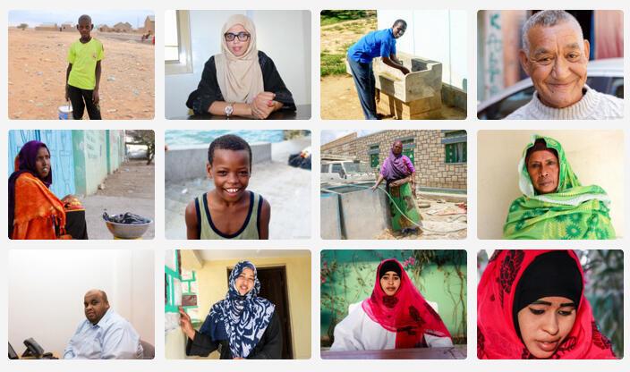 "Projet ""Somali Faces"""