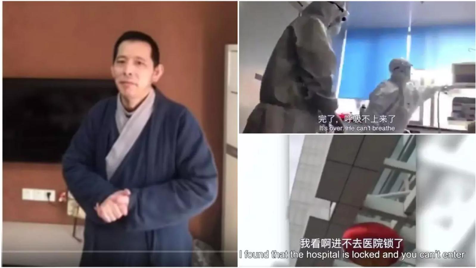 Fangbin, gérant d'un magasin de vêtement à Wuhan, s'est transformé en lanceur d'alerte quand la pandémie de Covid-19 s'est déclarée dans sa ville.