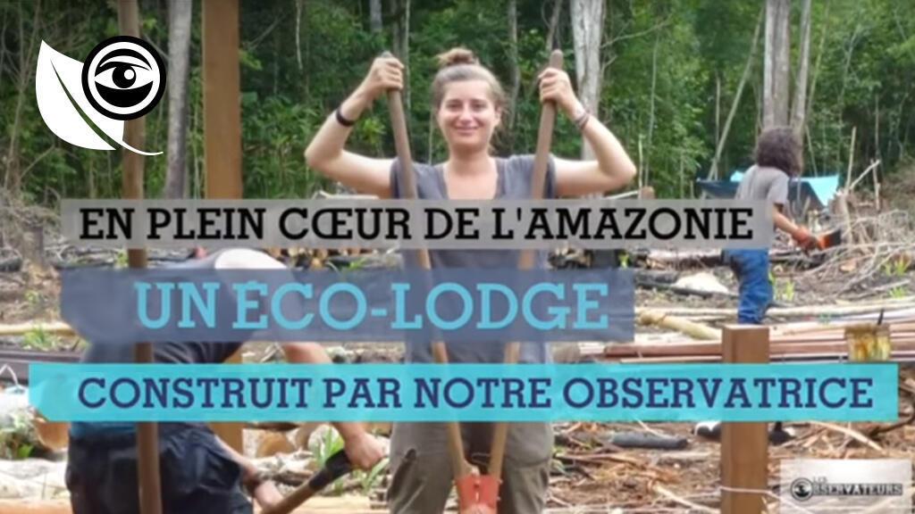 Notre Observatrice, Anne de Thélin, propose à des bénévoles d'aider les communautés locales péruviennes en construisant un lodge 100% écologique.