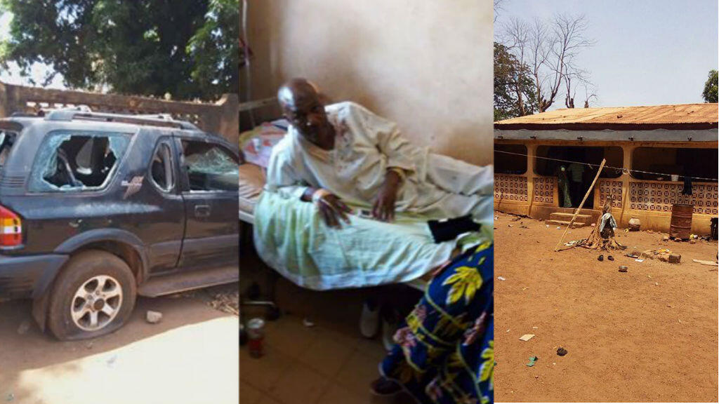 Aboubacar Sidiki Traoré, le maire de Siguiri, a été agressé lundi 23 mai. Photos : Guineematin.com