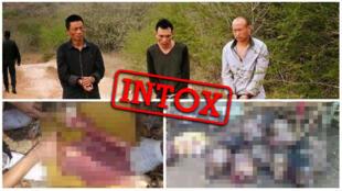 Selon plusieurs articles et publications sur les réseaux sociaux, ces individus chinois auraient été arrêtés pour cas de cannibalisme en Afrique... mais l'histoire est fausse.