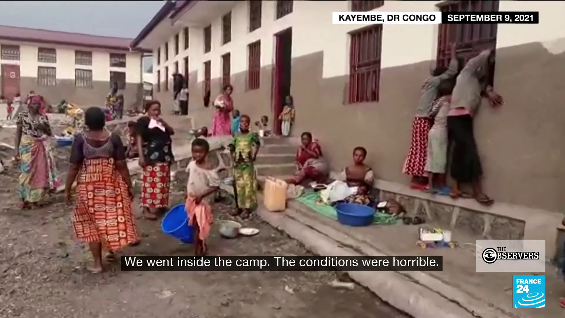 Four months after the eruption of the Nyiragongo volcano, which destroyed several neighbourhoods in the city of Goma, in the east of the Democratic Republic of Congo, thousands of victims continue to live in makeshift camps.