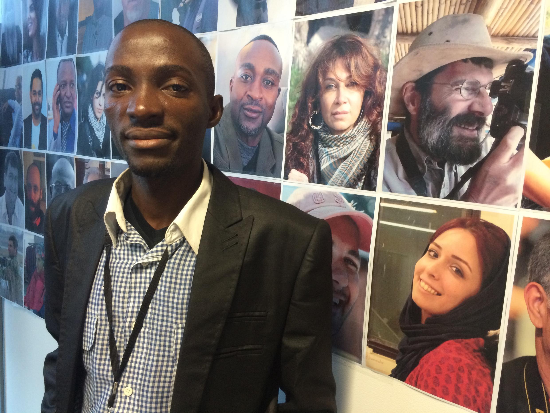 Muller Nandou Tenkeu, un de nos Observateurs à Douala au Cameroun, est venu rendre visite à l'équipe des Observateurs de France 24.