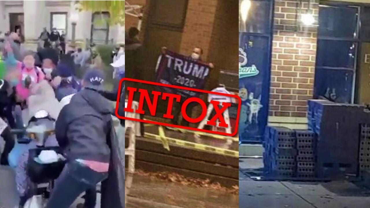 La nuit d'élection américaine a été marquée par relativement peu d'intox. En voici cinq repérées par la rédaction des Observateurs.