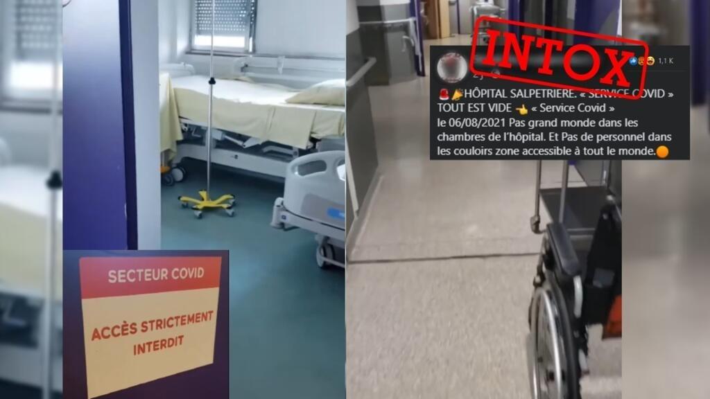 Attention à cette vidéo prétendant montrer un service Covid vide dans un hôpital parisien
