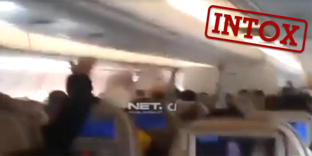 Cette vidéo censée montrer l'intérieur du crash de l'avion Egypt Air le 19 mai dernier est une intox. Voici comment le prouver en quelques clics.