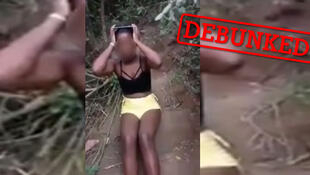 "Many people shared this video on Facebook, claiming that the footage showed a group of ""Asian"" or ""Indian"" men torturing an African woman. In reality, the incident took place in Brazil."