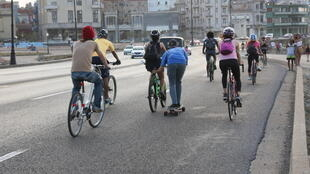 دوچرخه سواری در هاوانا