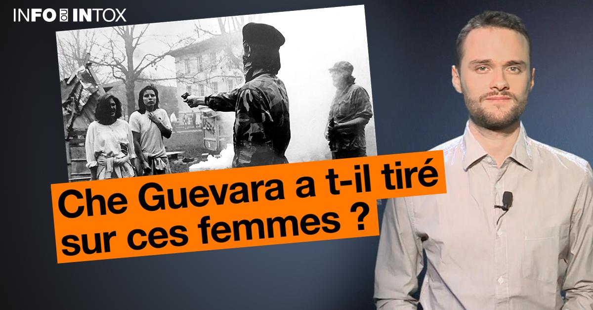 Une image d'archive qui montrerait une photo méconnue de Che Guevara? Pas du tout!