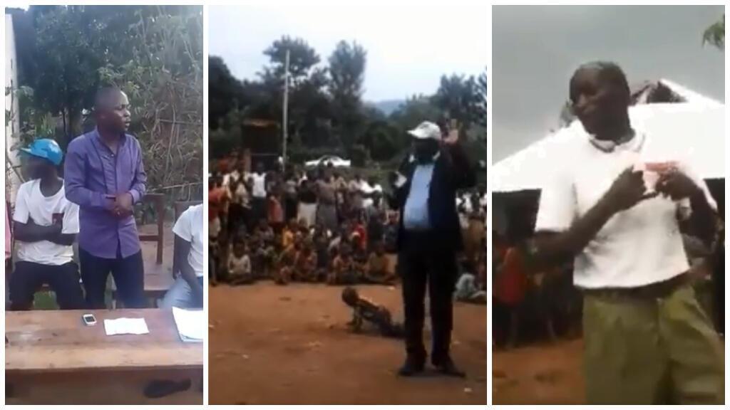 """Au moins trois vidéos amateur dévoilées récemment sur les réseaux sociaux montrent des discours parfois violents contre les partisans du """"non"""" au référendum constitutionnel du 17 mai au Burundi."""