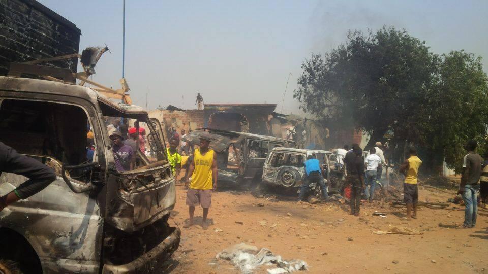 Photo prise vendredi 9 septembre à Kasumbalesa et envoyée par l'un de nos Observateurs. Toutes les photos publiées dans cet article ont été prises par nos Observateurs.