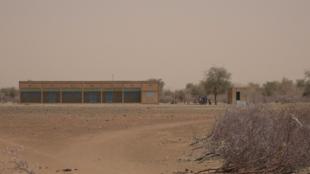 École primaire à Gorom-Gorom, le chef-lieu de la province d'Oudalan, dans la région du Sahel, dans le nord du Burkina Faso. Photo prise par Seidou Samba Toure, le 9 mars 2017.