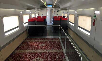 Photo postée par @AndyBTravels, le wagon est identique