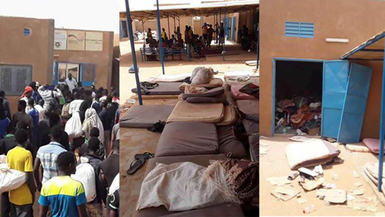 Lockdown orders have had a devastating effect on migrants from sub-Saharan Africa who were kicked out of Algeria and have been living in camps in the border town of Arlit, Niger.