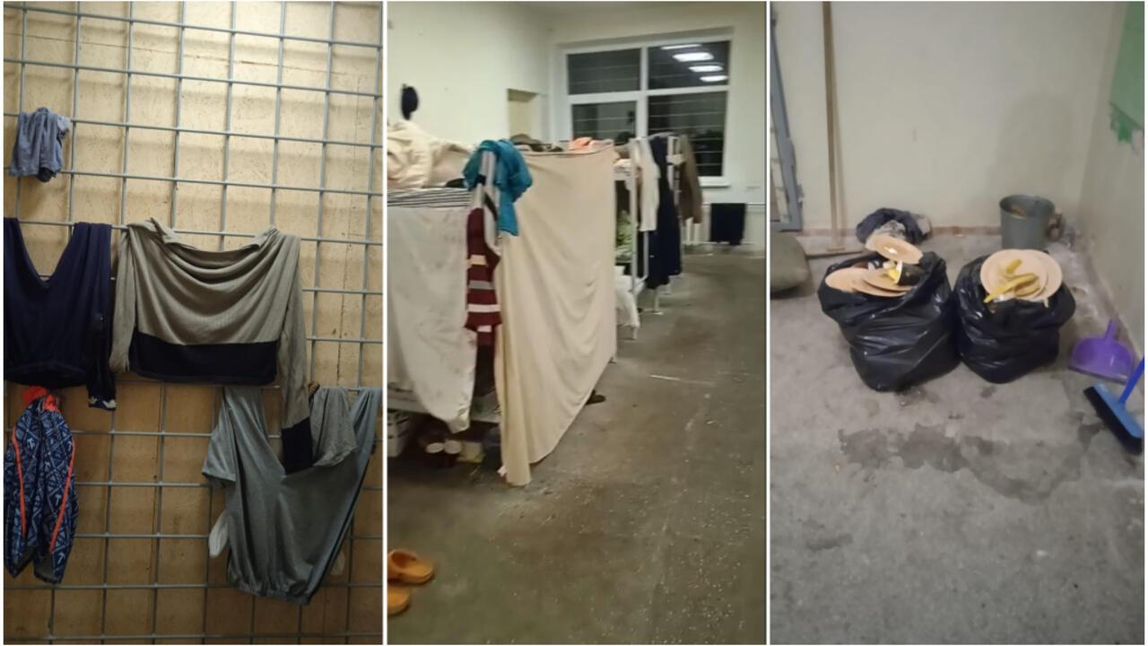 """Lituanie : immersion en images dans un camp pour migrants """"digne d'une prison"""""""