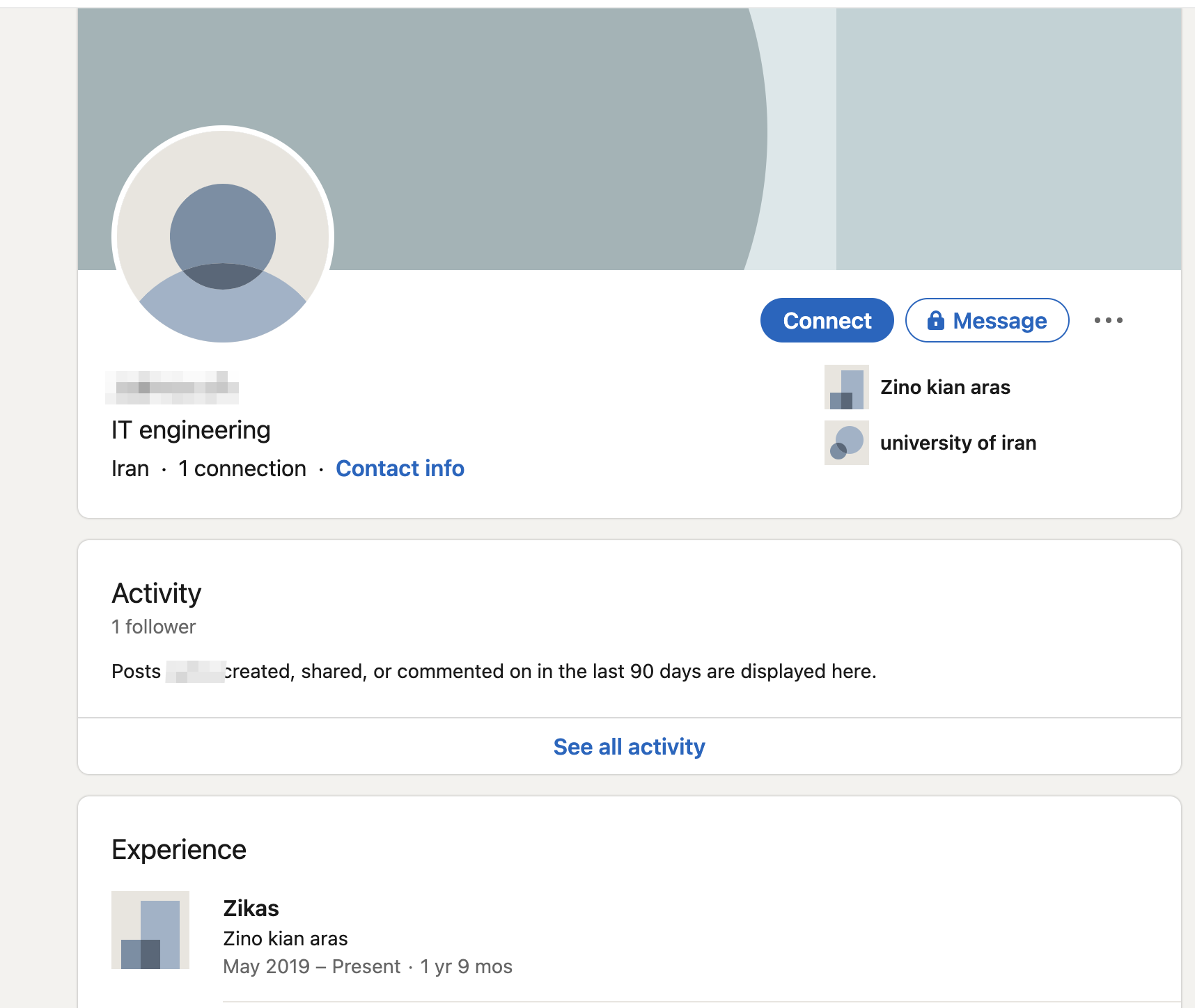 We could find profiles of some of the ZIKAS workers even on LinkedIn.