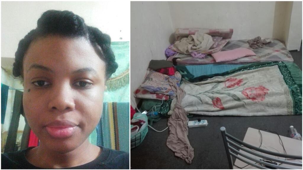 Photos transmises par Désirée Kouassi depuis l'appartement d'Al Jahra où elle était séquestrée.