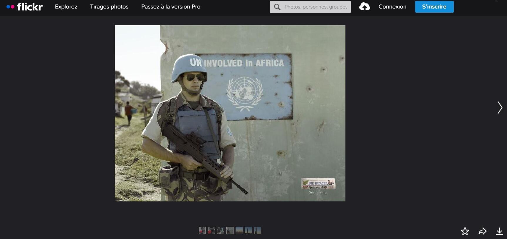 """صورة ملتقطة من الحملة الأصلية التي صوَرها شاد هينينغ لفائدة وكالة """"أف سي بي كيب تاون'' الإشهارية في إفريقيا الجنوبية."""