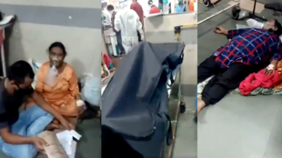 Social media users across India were  horrified by videos showing patients being treated in beds right next to the bodies of Covid-19 victims in several Mumbai hospitals.