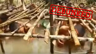Screengrab of the video (below).