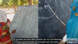 tchad nomade école