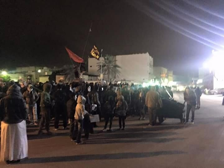 Manifestations à Qatif dimanche.