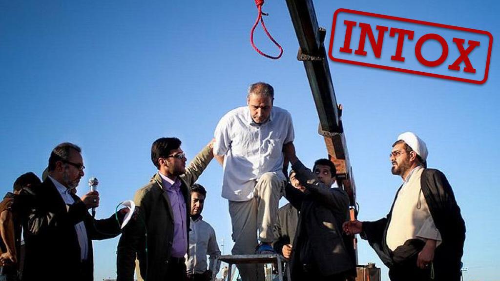 La photo d'une exécution reprise par les médias et internautes