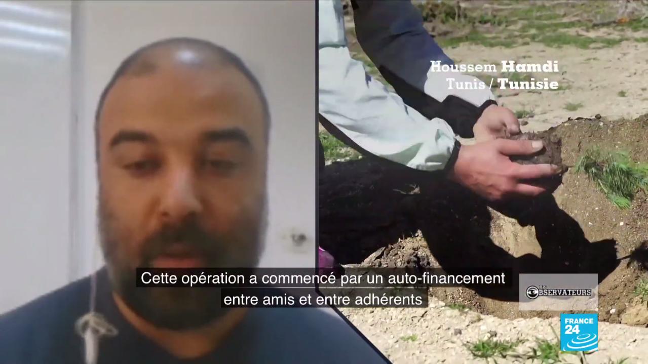 Notre Observateur Houssem Hamdi, président de l'association Tunisie Recyclage et membre du collectif Soli&Green, précise que 100 personnes environ participent chaque semaine.