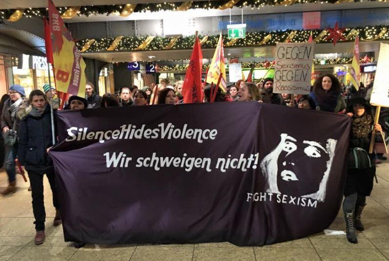 Mardi, une manifestation pour dénoncer les attaques du Nouvel An et les amalgames a été organisée.