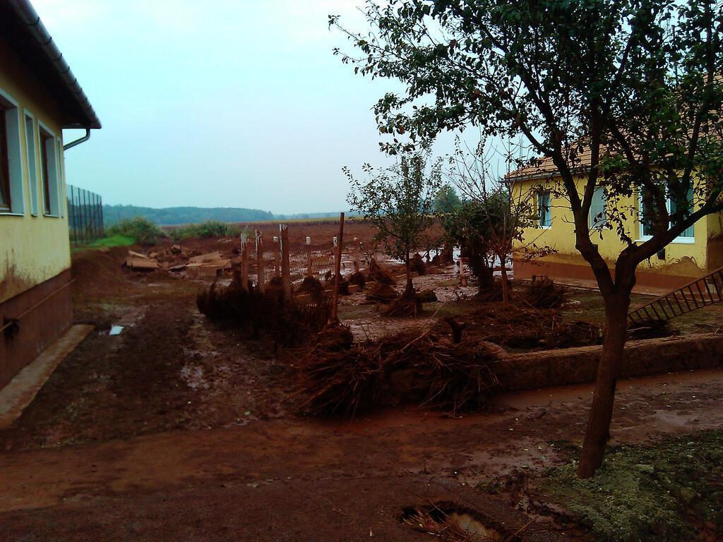 The village of Kolontar on October 5, 2010.