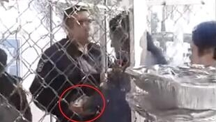Money in exchange for prison visits? The scheme was devised by a wily prison warden from Culiacan in Mexico. Screen grab taken from video below.