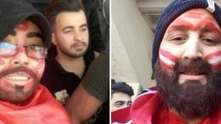 These Iranian women wore fake beards to sneak into stadiums to attend men's football matches.