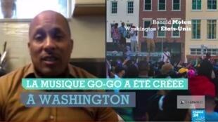 Des habitants rassemblés autour de la musique go-go, née à Washington, après qu'un magasin ait été sommé d'arrêter la diffusion de cette musique, suite à une plainte du voisinage