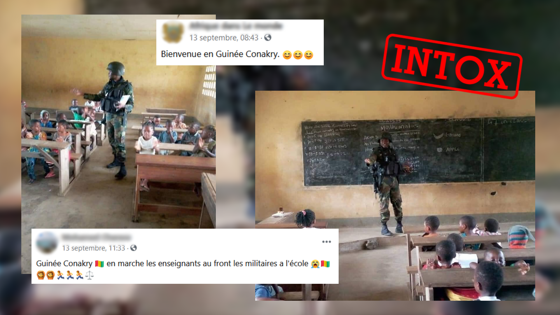 Illustration article intox guinée cameroun