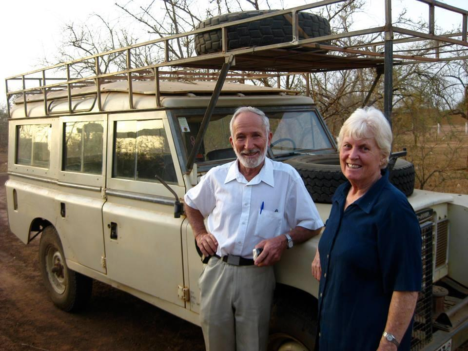 """Jocelyn and Ken Elliott, who were kidnapped in northern Burkina Faso. Photo published on the Facebook page """"Djibo supports Dr. Ken Elliott""""."""