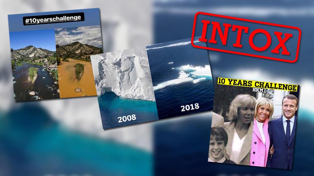 Le #10yearchallenge a donné lieu à la diffusion d'images trompeuses.