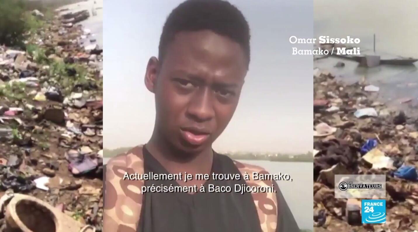 Notre Observateur Omar Sissoko a arpenté les rues de Bamako pour montrer les décharges sauvages qui pullulent dans la capitale malienne.